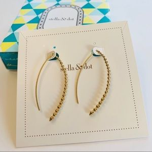 Stella and Dot halo earrings